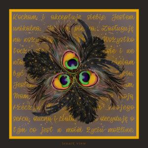 chusta jedwabna apaszka dla kobiety kwadratowa