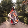 apaszka jedwabna chusta z jedwabiu naturalnego
